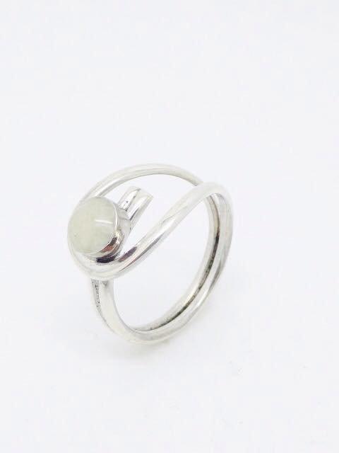 Moedermelk zilveren ring